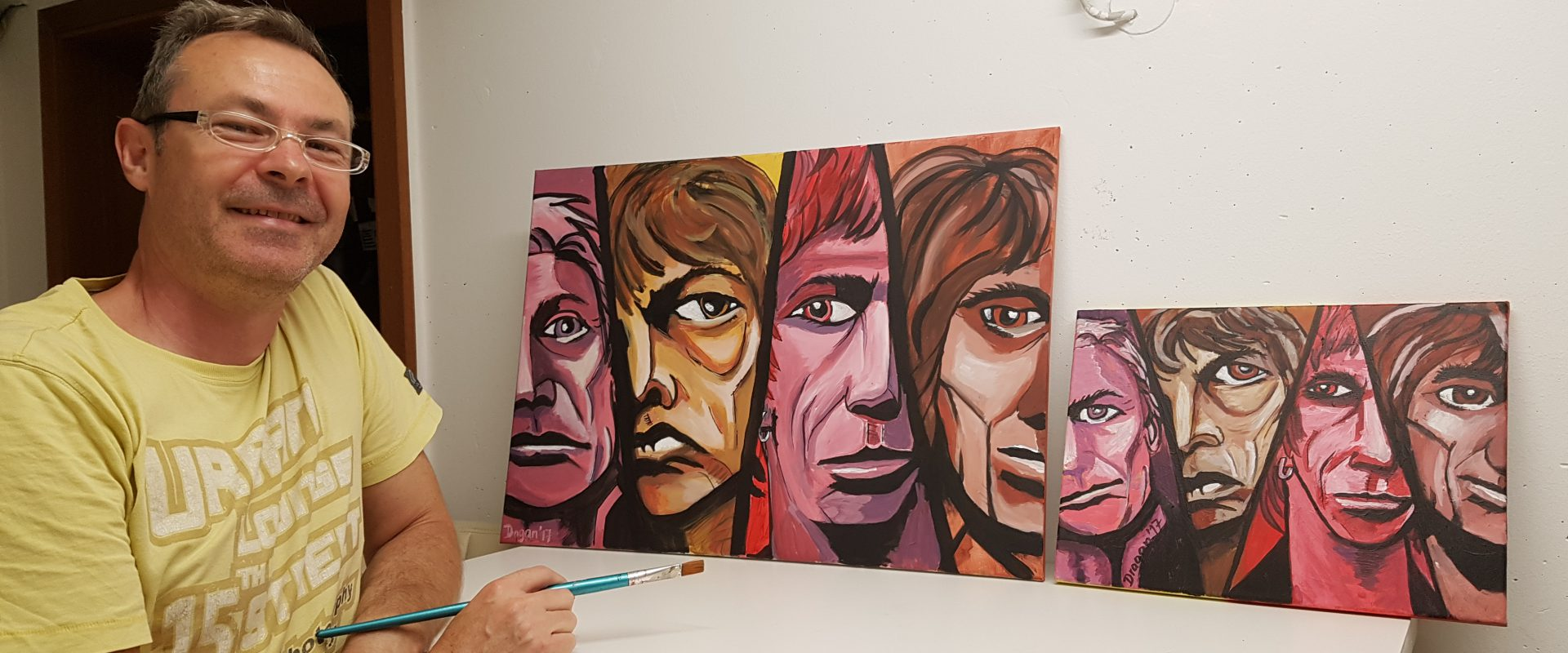 Rolling Stones in Acryl