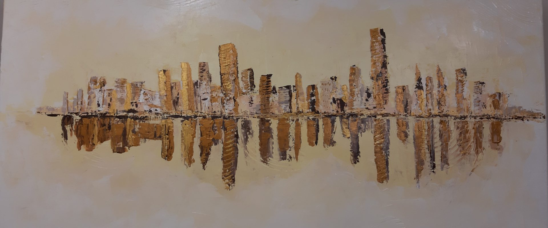 Abstract Skyline by DragansART